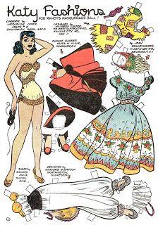 Pappy's Golden Age Comics Blogzine: Number 1222: Katy Kut-ups