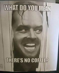 Die Kaffeemaschine geht kaputt und ein Büro rastet aus