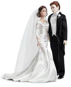 BARBIE THE TWILIGHT SAGE BREAKING DAWN EDWARD & BELLA WEDDING DAY  #Barbie