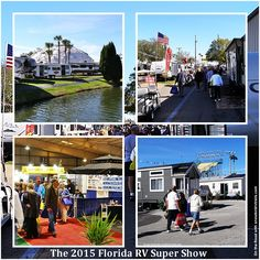 The Florida RV Super Show covers the FL State Fairgrounds in Tampa and it takes 2 days to see it all and fortunately your ticket is good for 2 days. Rv Show, The Fl, Rv Campgrounds, Ticket, Florida, Travel, Viajes, The Florida, Trips