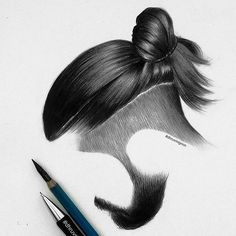 8greqtpony Hair And Beard Styles, Long Hair Styles, Hair Png, Hairstyles With Bangs, Men's Hairstyle, Hair Sketch, Oldschool, Long Tops, How To Draw Hair