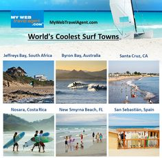 Surfing Destinations, Nosara, New Smyrna Beach, Hotel Reservations, Surfers, Byron Bay, South Africa, Spain, Wax