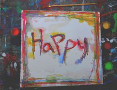 painted laughter an smiles along the way