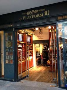 TO DO: Buy something at the new shop at Platform 9 ¾,  King's Cross Station,  London . #londonmoments