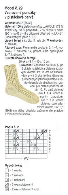 Pletené ponožky Apollo, Knitting, Wrist Warmers, Tricot, Breien, Apollo Program, Knitting And Crocheting, Crochet, Cable Knitting