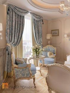 Classy Living Room, Home Living Room, Living Room Designs, Living Room Decor, Bedroom Decor, French Living Rooms, Bedroom Wall, Wall Decor, Rideaux Design