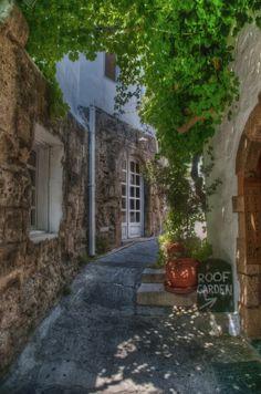 Lindos, island of Rhodes, Greece Mykonos, Santorini, Places Around The World, Around The Worlds, Beautiful World, Beautiful Places, Greece Rhodes, Greece Travel, Greece Trip