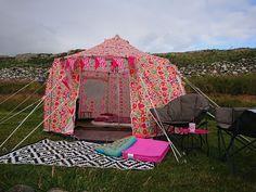 TENTS | Meet This Summer's Best New Tent – The L.O.M Luna Weekender Bell Tent