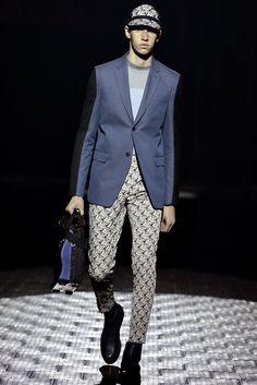 Kenzo Fall 2013 Menswear Fashion Show