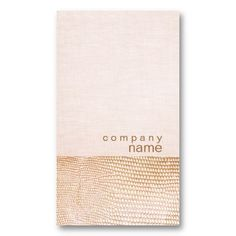 Gold Snake Skin Pattern Pink Linen Look Boutique Business Cards - I like the mix of snake on paper with linen pink -