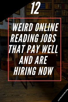 Do you love reading and need to make money now? Here's 12 weird online reading jobs that pay well and are hiring now. Discover and Apply SUCCESSFUL online MONEY MAKING MODEL and get full support for your PROFIT Make Money Now, Earn Money From Home, Earn Money Online, Quick Money, Money Fast, Legit Work From Home, Work From Home Jobs, Reading Jobs, Work From Home Opportunities
