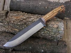 Gray Wolf Camp Knife 1A
