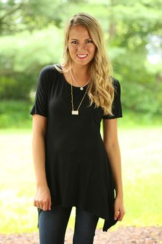 Everyday Tunic in Black