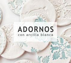Adorna tu hogar con detalles DIY hechos en arcilla blanca