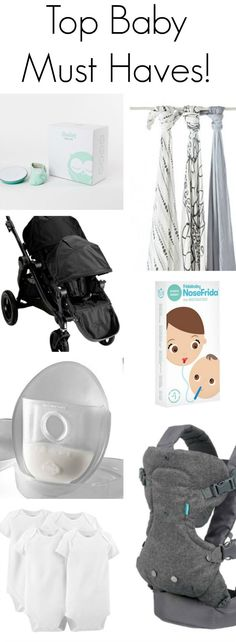Baby Must Haves - Sincerely Jean