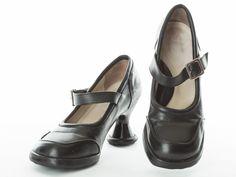Gidget Loves these gorgeous black leather Mary Janes from John Fluevog