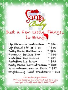 Have Santa fill your stocking with amazing skincare items.