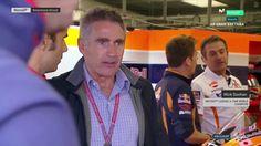 British GP Q1 - Michael Doohan Visitor