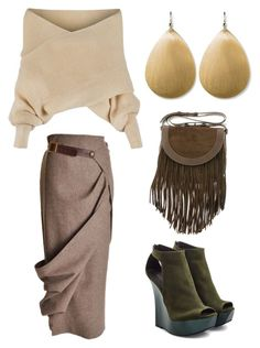 """""""нат-л на плавн"""" by natalinabloom on Polyvore featuring мода, WithChic, Frye и Balmain"""
