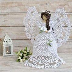 В топике Забияки(Ирины) (http://www.passionforum.ru/posts/60559-sos-ochen-v... увидела вот такую красоту:И так мне захотелось связать себе хоть что-нибудь похожее на этого ангела
