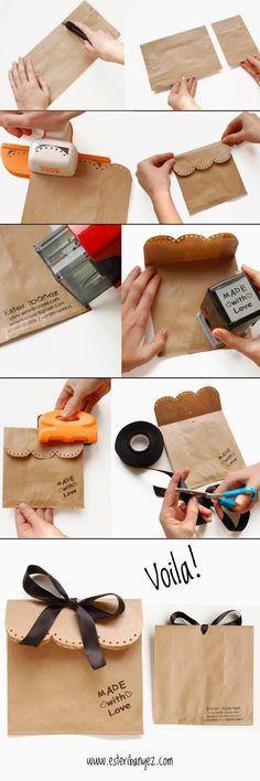 Adictaaloscomplementos: Packaging bonito con papel kraft