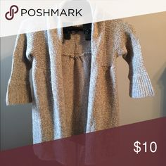 Cream and brown sweater Cream and brown cardigan sweater Sweaters Cardigans