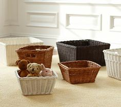 Sabrina Basket Collection #PotteryBarnKids