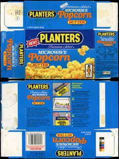 Planters - Microwave Popcorn with Butter - NEW! - box - 1988 | Flickr - Photo Sharing!