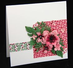 Mother's Day Blooms from Stampin' Up! Botanical Blooms