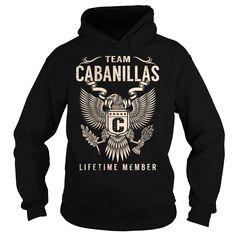 Team CABANILLAS Lifetime Member - Last Name, Surname T-Shirt