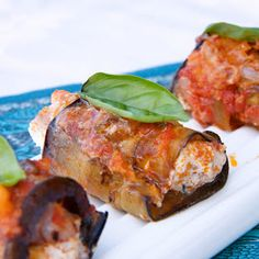 Apron and Sneakers - Cooking & Traveling in Italy and Beyond: Aubergine Rolls with Ricotta & Speck