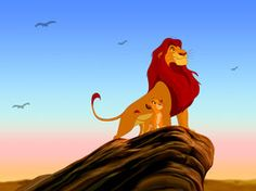 The Lion King - Mufasa and Simba forever by ~Diego32Tiger on deviantART