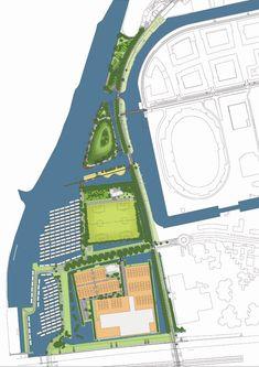 Park Schinkel Islands by Buro Sant en Co Landscape Architecture «  Landscape Architecture Works   Landezine