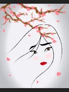 I think Mulan is the best, most beautiful princess Disney ever created!  No fru-fru stuff here ;)