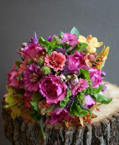 love the zinnias and garden roses...