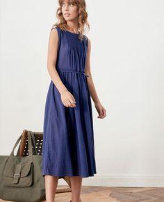 Dress with pleat details Marine Feiko