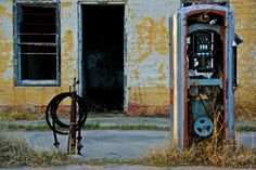 Abandoned gas station in Pilot Point, TX. Photo by Rich Anderson on Flickr…