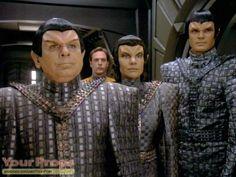 star trek costumes original | Star Trek: Deep Space Nine, Romulan Tal Shiar