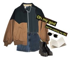 """""""omg"""" by junk-food ❤ liked on Polyvore featuring Wrangler, Marni, Dr. Martens and Dosa"""