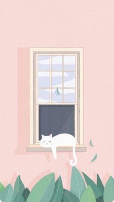Cat Phone Wallpaper, Cats, Home Decor, Gatos, Decoration Home, Room Decor, Cat, Kitty, Home Interior Design
