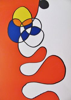 Alexander Calder (American, 1898-1976), Abstract Plus, 1986. Lithograph, 38.1 x 27.9 cm.