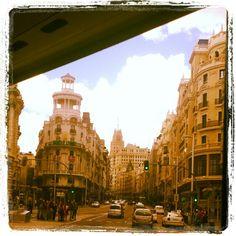 Madrid desde el bus