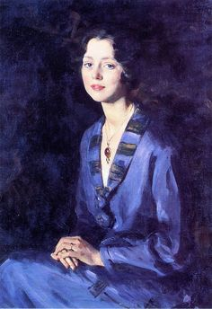 Louise Rogers on Her Engagement - Wilfred Gabriel de Glehn