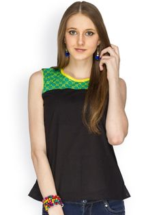 100% COTTON SLEEVELESS BLACK BODY WITH PRINTED YOKE - See more at: http://www.namakh.com/TOP/BLACK-BODY-WITH-PRINTED-YOKE-TOP-id-1163735.html#sthash.Gldh3XVW.dpuf