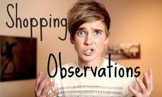 Shopping Observations | ThatcherJoe