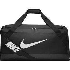 333afd8e27 Details about NIKE Brasilia Training Duffel Bag Black Black White Size  Large FAST SHIP