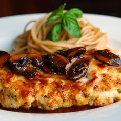 The BEST Chicken Marsala!  I've made this several times for company and it's delicious.  Double both the wines (the alcohol cooks out), and add some cream at the end, top with parsley, and you're in business!