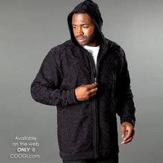 COOGI Authentic - Solid Color Hoodie Men's Hoodies, Bomber Jacket, Sweaters, Jackets, Color, Fashion, Down Jackets, Moda, Fashion Styles