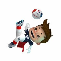 Mascot euro 2016 shoot