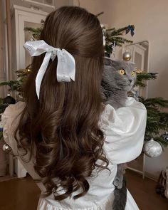 Hair Inspo, Hair Inspiration, Aesthetic Hair, Dream Hair, Pretty Hairstyles, Hair Looks, Curly Hair Styles, Hair Makeup, Hair Cuts